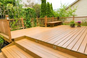 Beautiful residential deck - Home Deck Builders in Lakeland